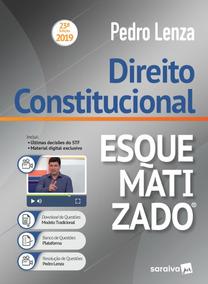 Direito Constitucional Esquematizado - Pedro Lenza - 2019