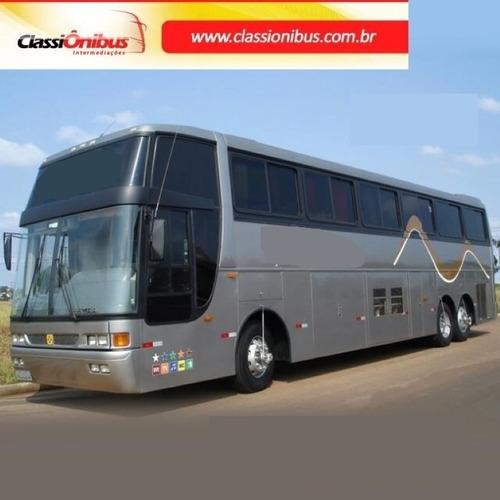 Busscar 360 Volvo B12   6x2 Leito Turismo 96/97 Completo,
