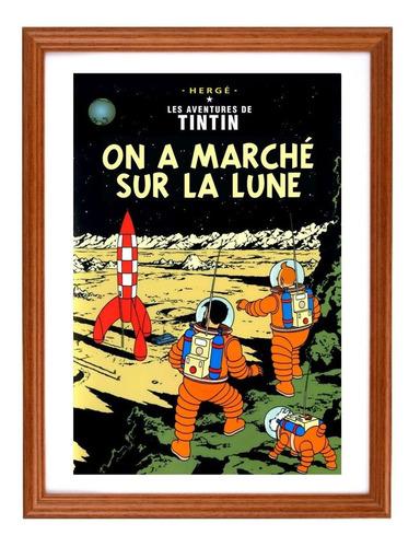 Afiches Tintín Francés