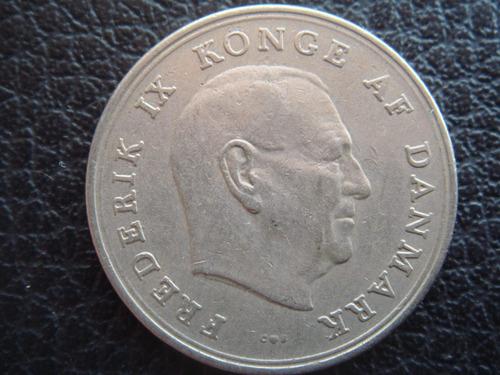 Dinamarca - Moneda De 1 Corona, Año 1967 - Muy Bueno