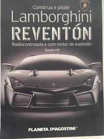 Lamborghini Reventón - Escala 1:10 Fascículos Lacrados!