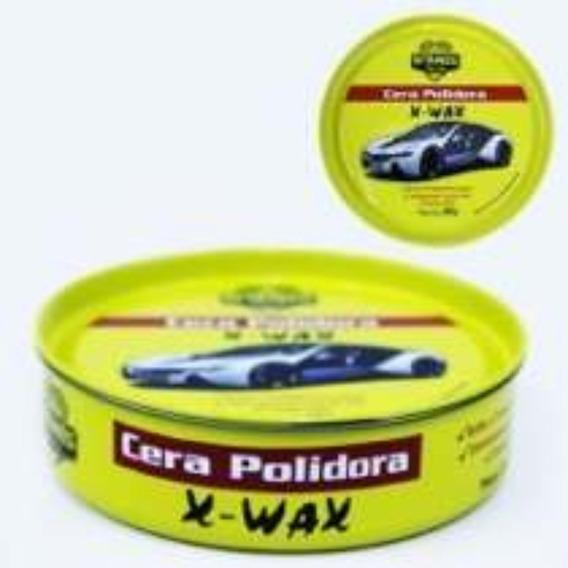 05 Latas Cera Polidora X-wax Tradicional 200 Gramas