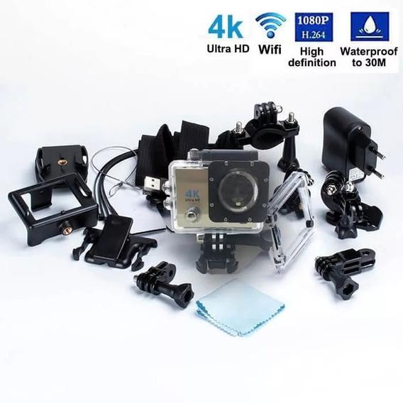 Câmera Hd Go Sport Wi-fi 4k 1080p