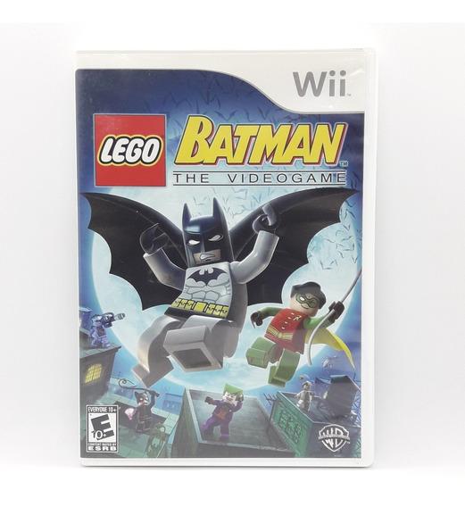 Lego Batman The Videogame Nintendo Wii Midia Fisica Original