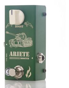 Pedal Fire Custom Ariete Booster Guitarra-5 Anos Garantia Nf