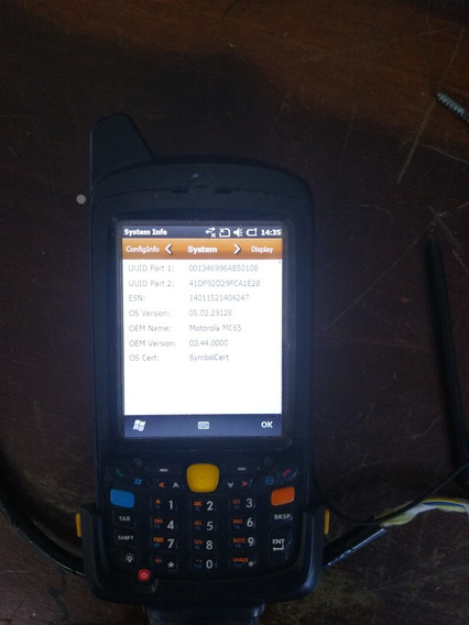 Symbol - Coletor De Dados Mc65 Motorola