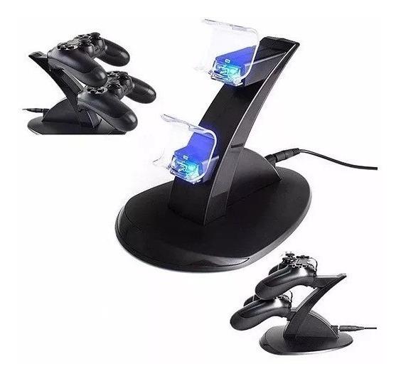 Base Carregadora De Manete Do Playstation 4 Com Cabo Incluso