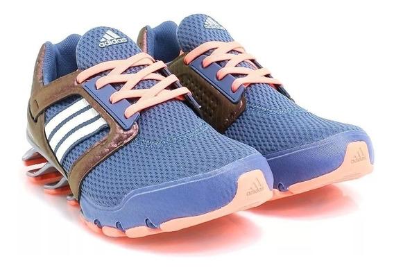 Tenis adidas Spring Blade E-force Azul-originales Aq7551