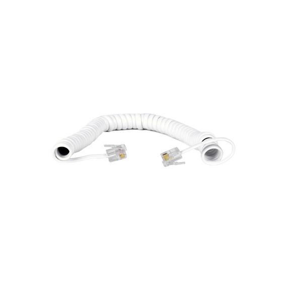 Cordão Espiral Para Monofone 2 Metros