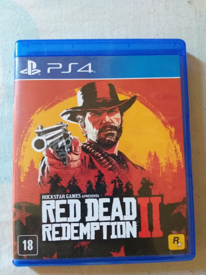 Jogo Ps4 Red Dead 2 Redemption