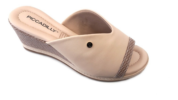Zapato Mujer Piccadilly Zueco Taco Chino 6cm 2019