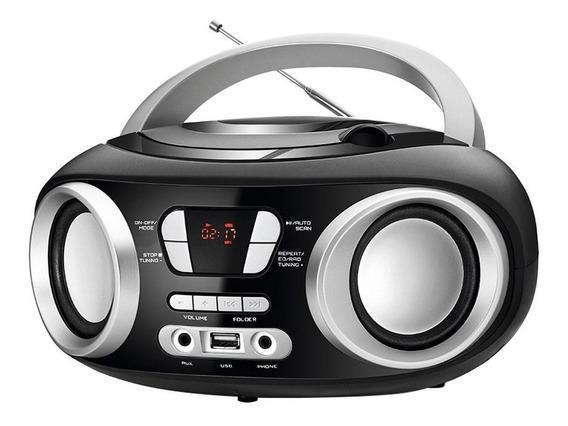 Rádio Boombox Nbx-13,usb,fm,display Digital, 6w Rms- Mondial