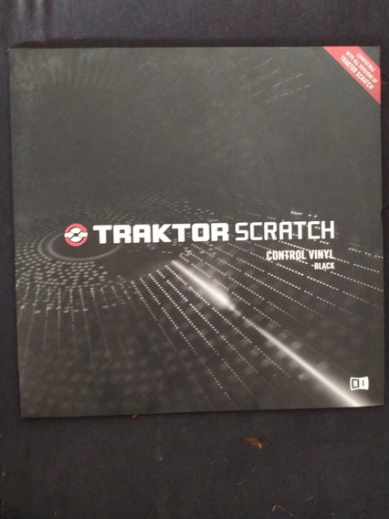 Par Vinyl Black Traktor Color Mk2 Native Instruments