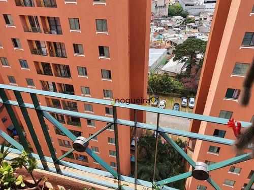 Apartamento Com 3 Dormitórios, 64 M² - Venda Por R$ 410.000,00 Ou Aluguel Por R$ 1.900,00 - Vila Do Castelo - São Paulo/sp - Ap6117