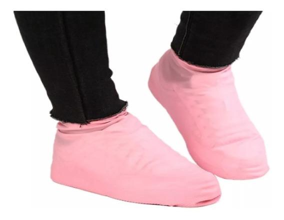 Protetora Capa Sapato Para Chuva De Silicone