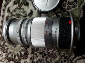 Lente Leica Elmar 90mm F/4 Raridade 12x S/ Juros!