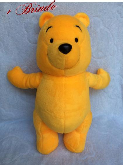 Bicho De Pelúcia Ursinho Pooh, Importado - Usado