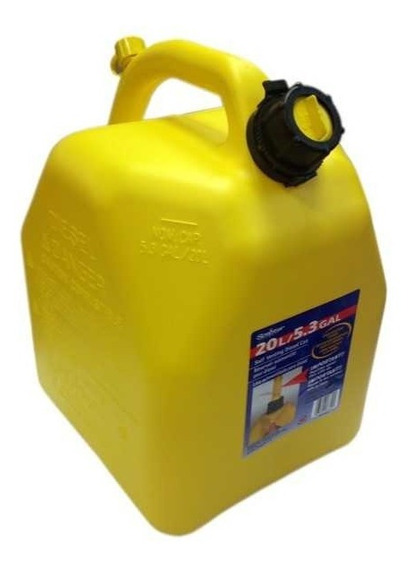 Bidon Para Diesel 20 Litros Amarillo