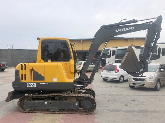 Mini-escavadeira Volvo Ec55b 2015=305d Cr,306d Caterpillar