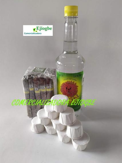 Productos De Santeria ( Cascarilla , Puros Y Aguardiente )