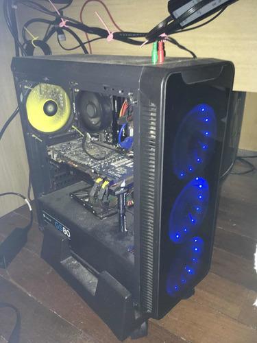 Pc Gamer Ryzen 3 2200g/r9 280 Sapphire/ram 16gb/b450m Asrock