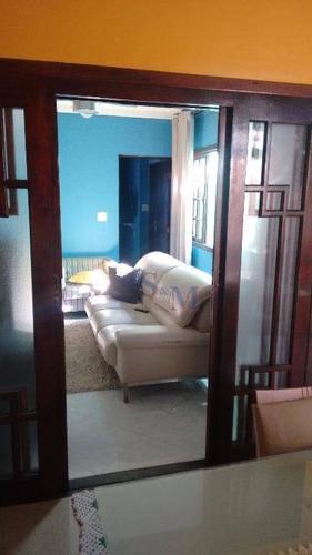 Imagem 1 de 24 de Casa Com 2 Dormitórios À Venda, 130 M² Por R$ 425.000,00 - Jardim Santo Alberto - Santo André/sp - Ca0274