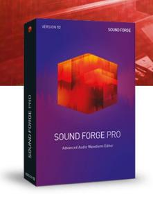 Magix Sound Forge Pro V12 2018 64-bit + 150 Plugins Vst