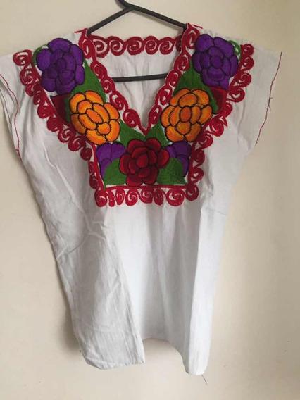 Camisas Mexicanas De Algodón 100% Artesanales Únicas