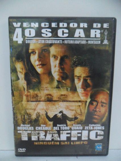 Dvd - Filme - Traffic Ninguém Sai Limpo - Vencedor 4 Oscar