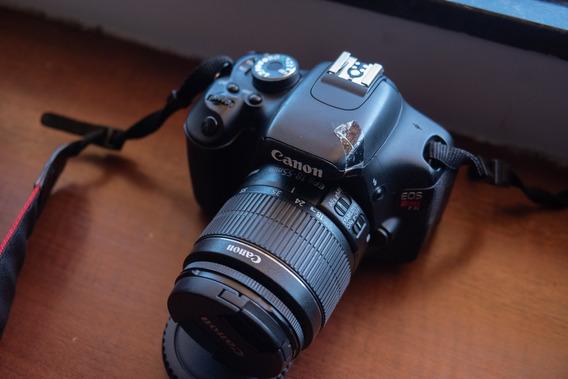 Câmera T3i, Semi Nova Com Duas Baterias + Carregador +outros