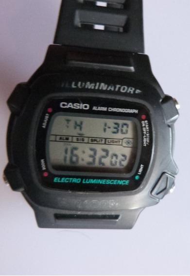 1 Relogio Casio Digital Luminator Diametro 48x46 Milimetros