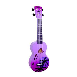 Ukulele Hawaii Purple Mahalo