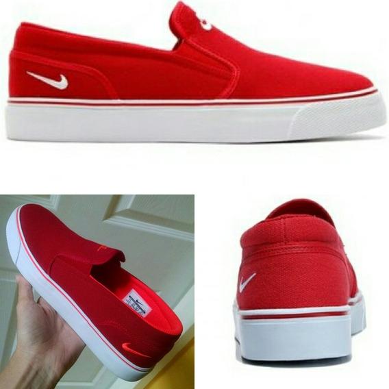 Oferta Zapatos Sneakers Gomas Nike Unisex Rojo Talla 40