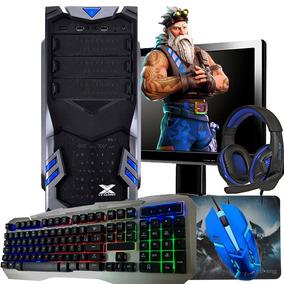 Pc Gamer Completo Com Tela / Placa De Vídeo Nvidia / Hd320gb