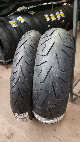 Pneu 200/55-17 E 120/70-19 Bridgestone