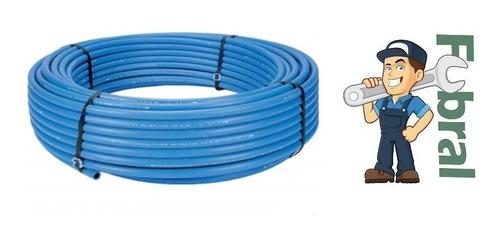 Imagen 1 de 5 de Plastiducto Azul De 25mm Por 2 Metros Fubral