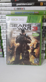 Gears Of War 3 Xbox 360 Original - Frete 12