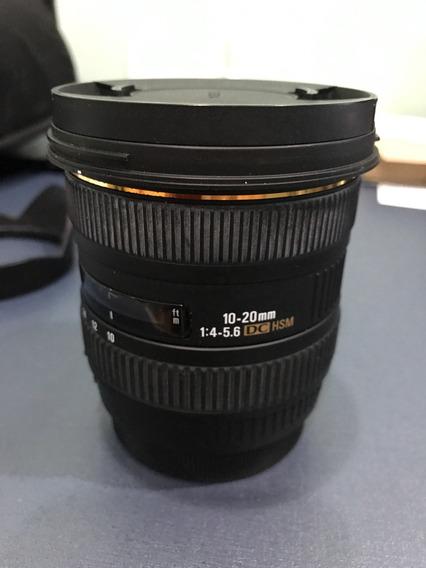 Lente Sigma 10-20mm 1:4-5.6 Dc Hsm