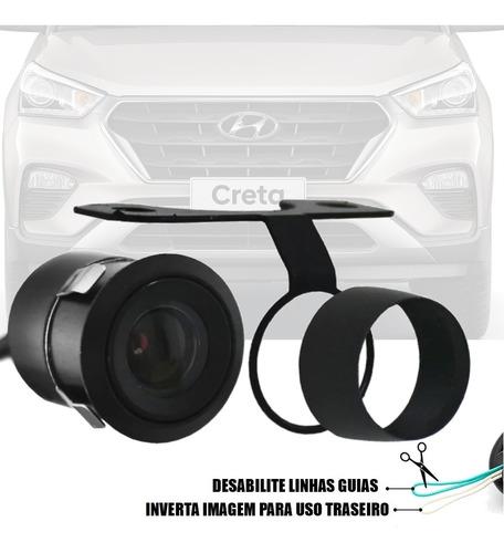 Imagem 1 de 6 de Camera Frontal Dianteira 2 Em 1 Para Hyundai Creta