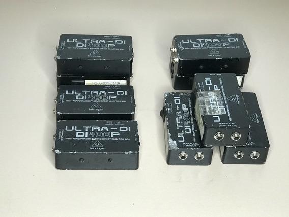 Direct Box Behringer Di400p Di-400p Passivo Profissional