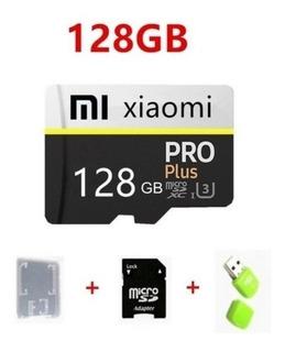Cartão De Crédito Xiaomi 128gb + Card Adap+adap Pendrive.