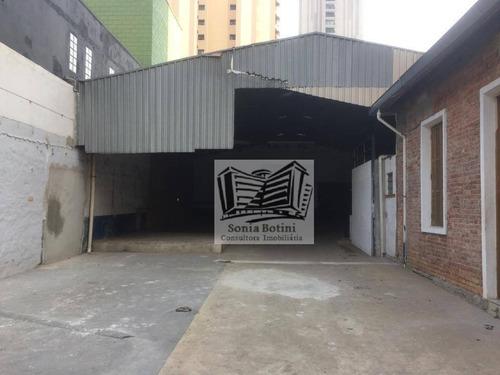 Imagem 1 de 16 de Galpão Para Alugar, 650 M² Por R$ 12.000,00/mês - Mooca - São Paulo/sp - Ga0159