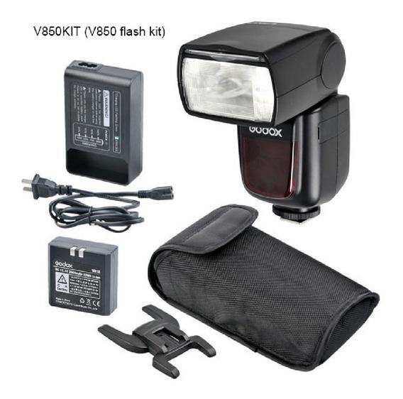 Flash Godox Greika V850 Speedlite Com Bateria Universal
