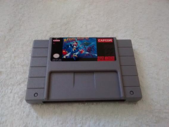 Cartucho Super Nintendo Mega Man X
