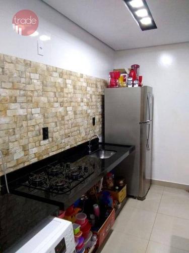 Apartamento Com 2 Dormitórios À Venda, 53 M² Por R$ 260.000,00 - Reserva Sul Condomínio Resort - Ribeirão Preto/sp - Ap7055