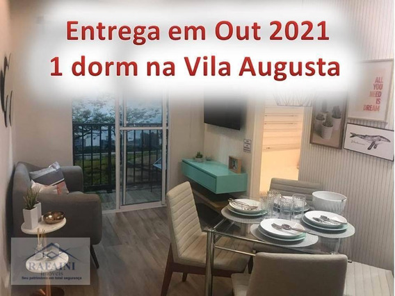 Apartamento 1 Dormitório Na Vila Augusta Com Entrada Facilitada. - Ap0900