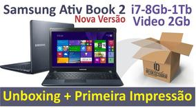 Samsung Ativ Book I7 8g 1tb