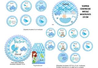 Invitacion Baby Shower 100 Souvenirs Cotillón Y Fiestas