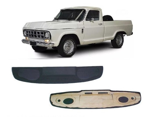 Console Teto Chevrolet Pick Up D10 C10 C14 D60 D70 Som Cd Px