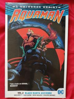 Comic Aquaman Vol. 2 Black Manta Asciende